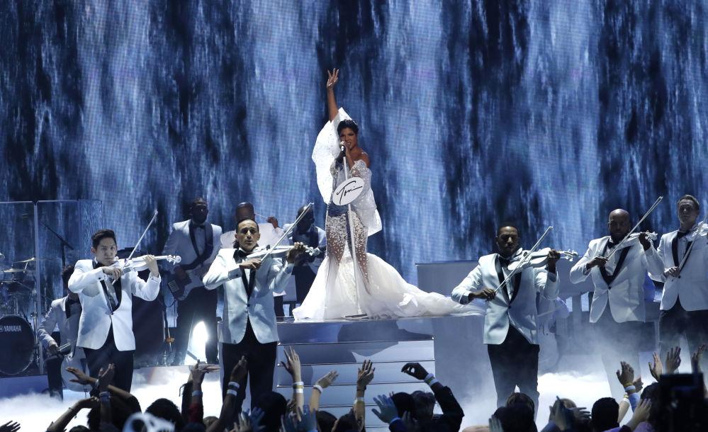 Toni Braxton agli American Music Awards 2019, il 24 novembre 2019, Los Angeles