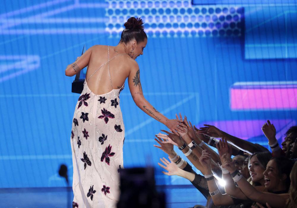 Halsey agli American Music Awards 2019, il 24 novembre 2019, Los Angeles
