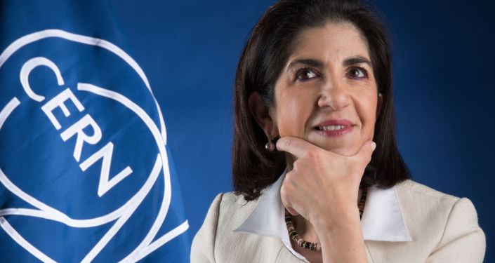 Fabiola Gianotti, direttrice del CERN