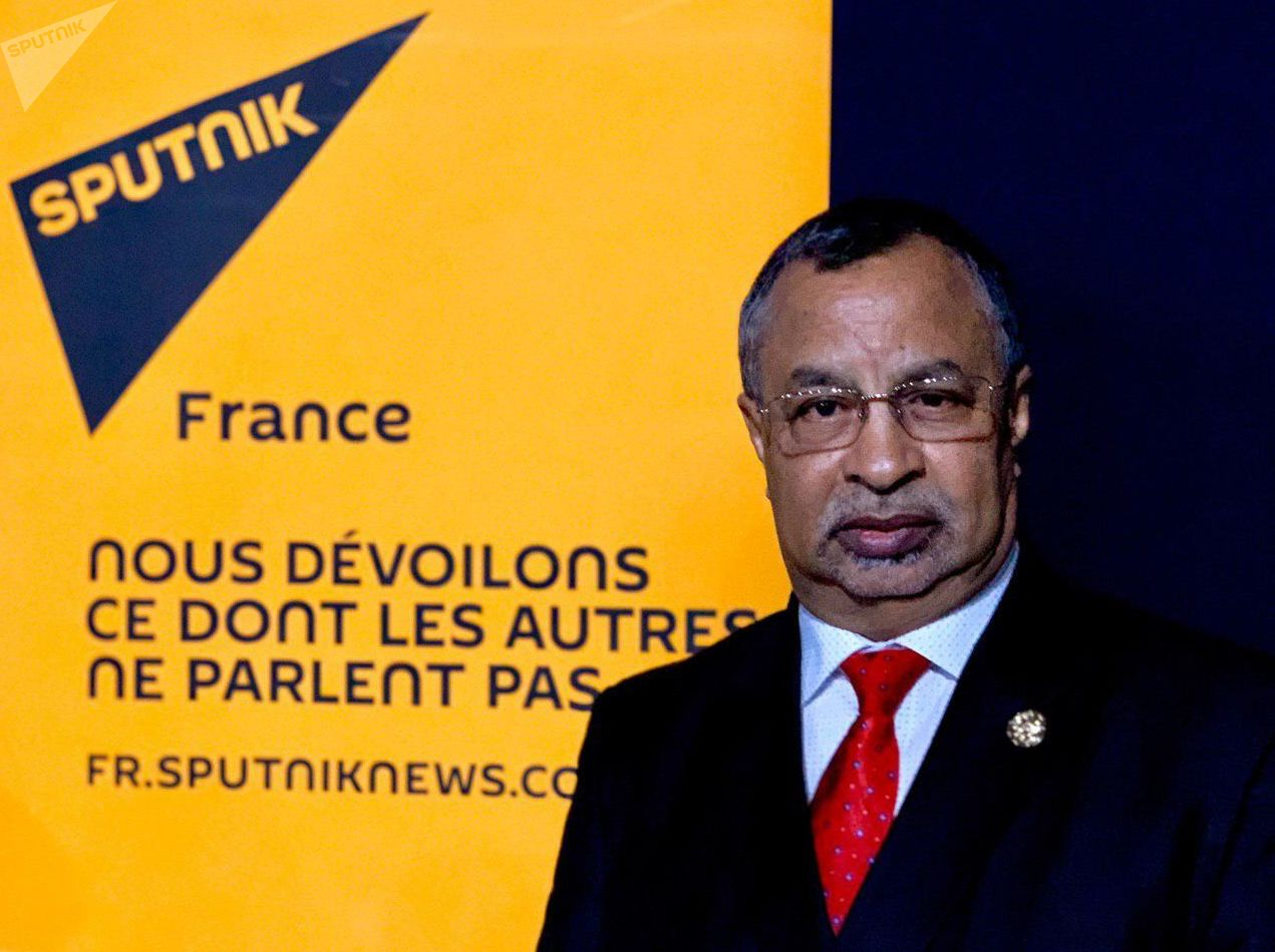 Mahamat Saleh Annadif, il capo della missione MINUSMA (la missione dell'ONU di stabilizzazione in Mali)