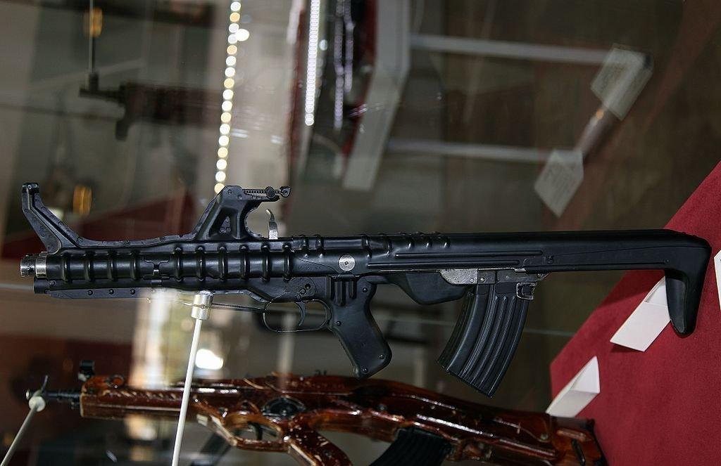 Il fucile assalto a tripla canna TKB-059 Korobov