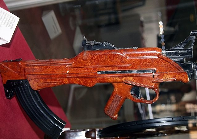 TKB-022PM Korobov assault rifle at Tula State Arms Museum