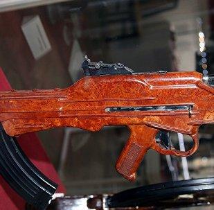 TKB-022PM Korobov assault rifle at Tula State Arms Museum