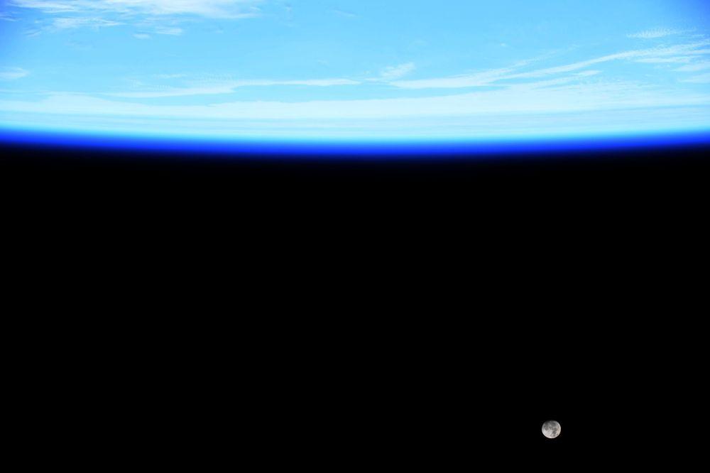 Foto scattata dalla Stazione Spaziale Internazionale fornita dall'astronauta statunitense Jessica Meir