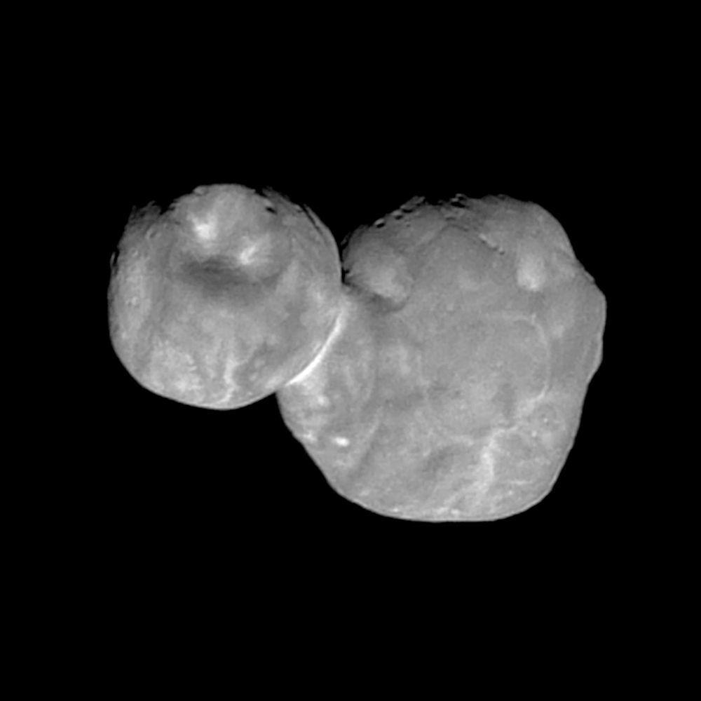 La foto più dettagliata di Ultima Thule scattata da New Horizons