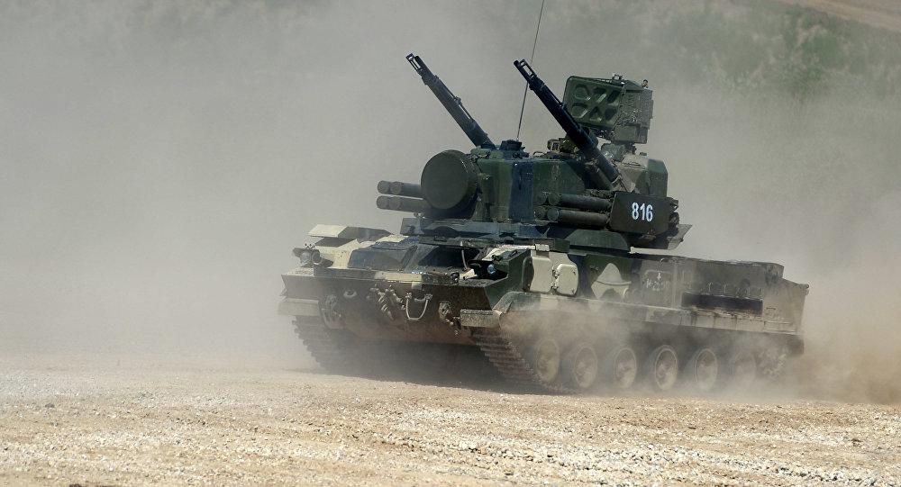 Lanciamissili mobile di contraerea Tunguska