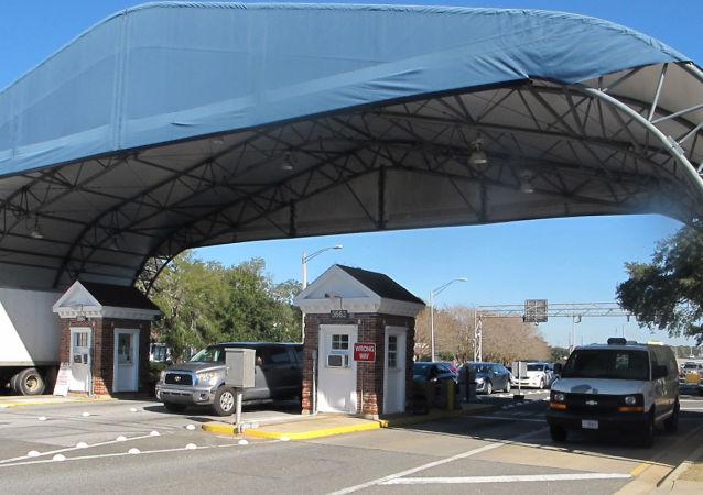 Entrata della base americana di Pensacola