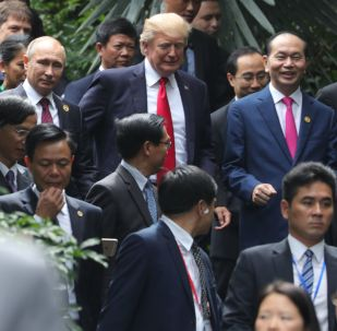 Vladimir Putin, Donald Trump e Xi Jinping