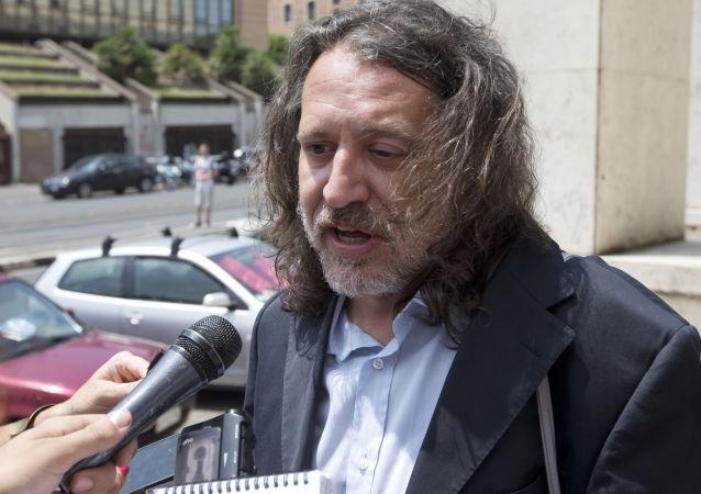 Il Presidente della Stamina Foundation Onlus Davide Vannoni