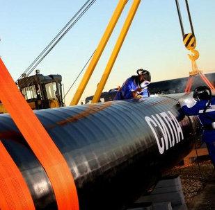 Cina costruisce il gasdotto Forza della Siberia