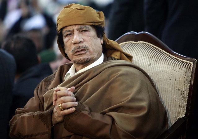 Muammar Gheddafi (foto d'archivio)