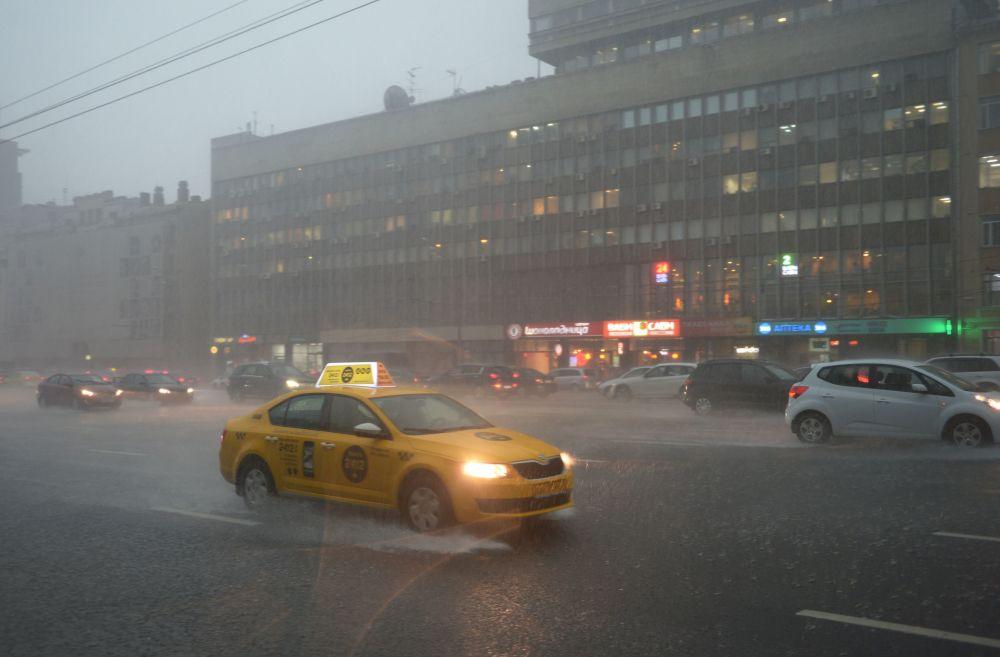 Mosca sotto l'acqua