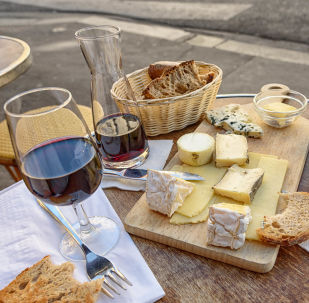 Cheese, Wine and Bread