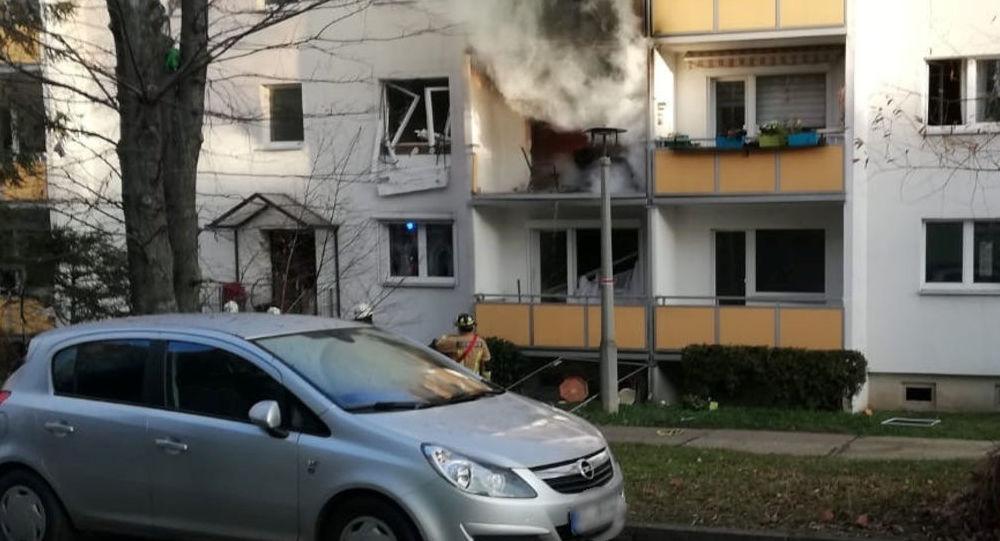 Esplosione nella città tedesca di Blakenburg