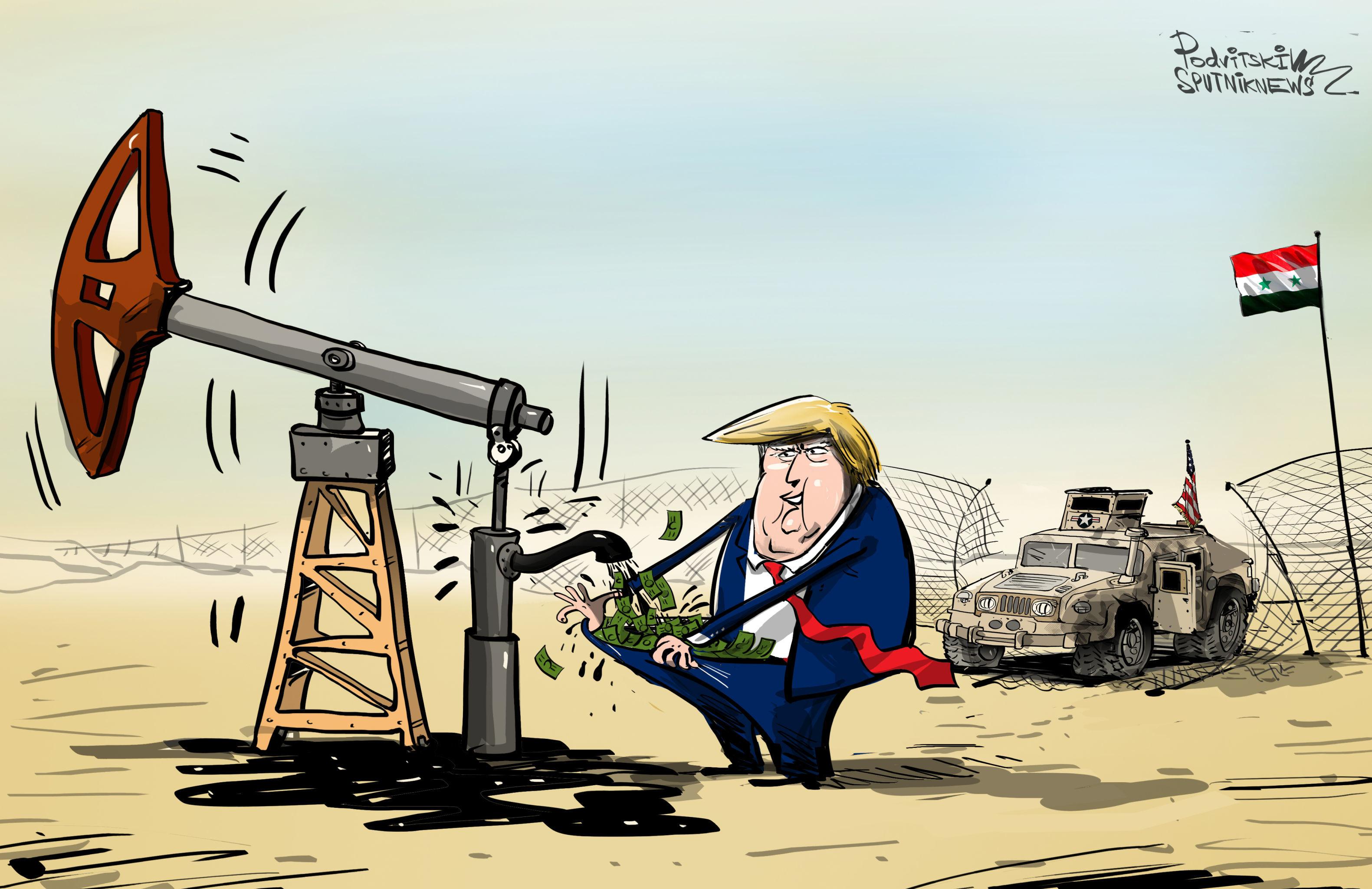 Il presidente della Siria, Bashar al-Assad ha accusato gli Stati Uniti di vendere il petrolio rubato al paese mediorientale alla Turchia.
