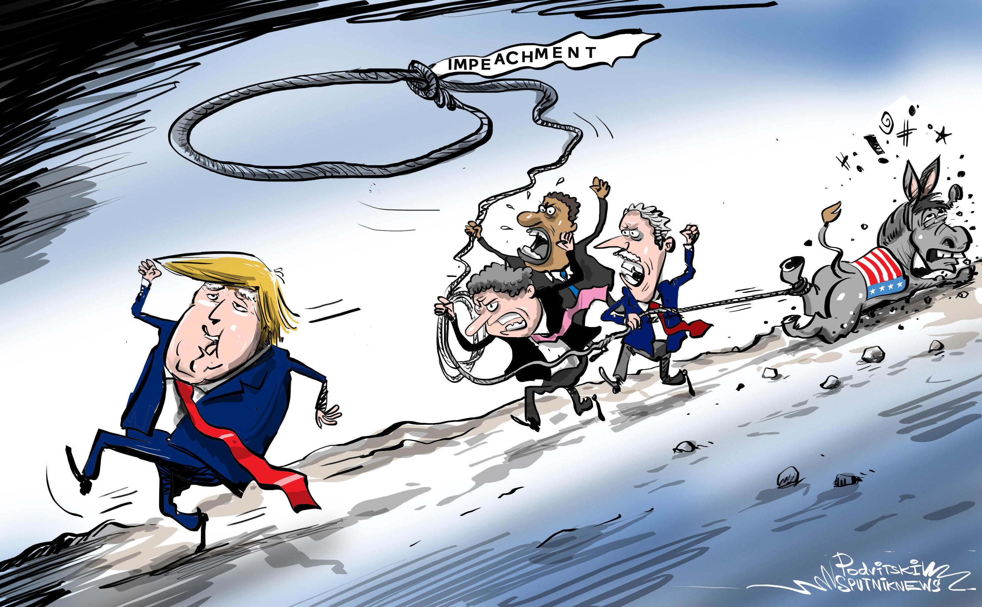 Camera dei Rappresentanti USA vota per l'impeachment di Trump
