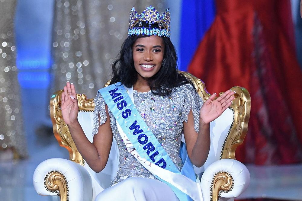 Miss Mondo 2019 Toni-Ann Singh, Londra, il 14 dicembre 2019