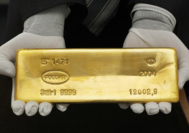 Lingotto d'oro russo