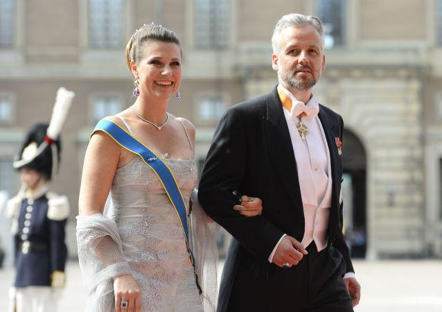 Ari Behn con la principessa Marta Luisa