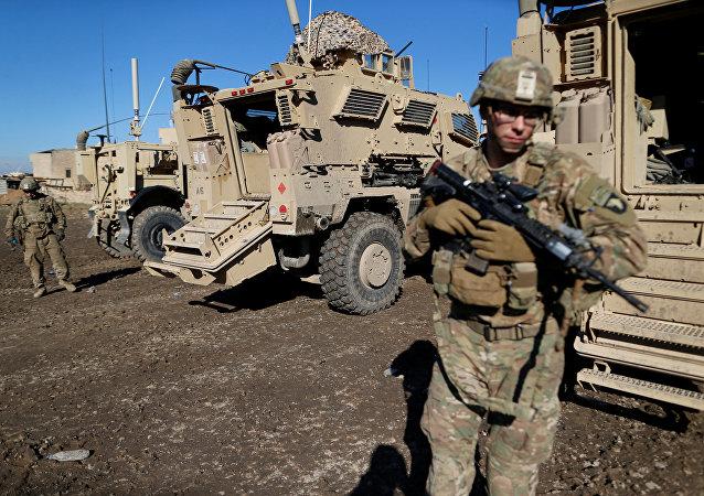 Militari Usa in Iraq (foto d'archivio)