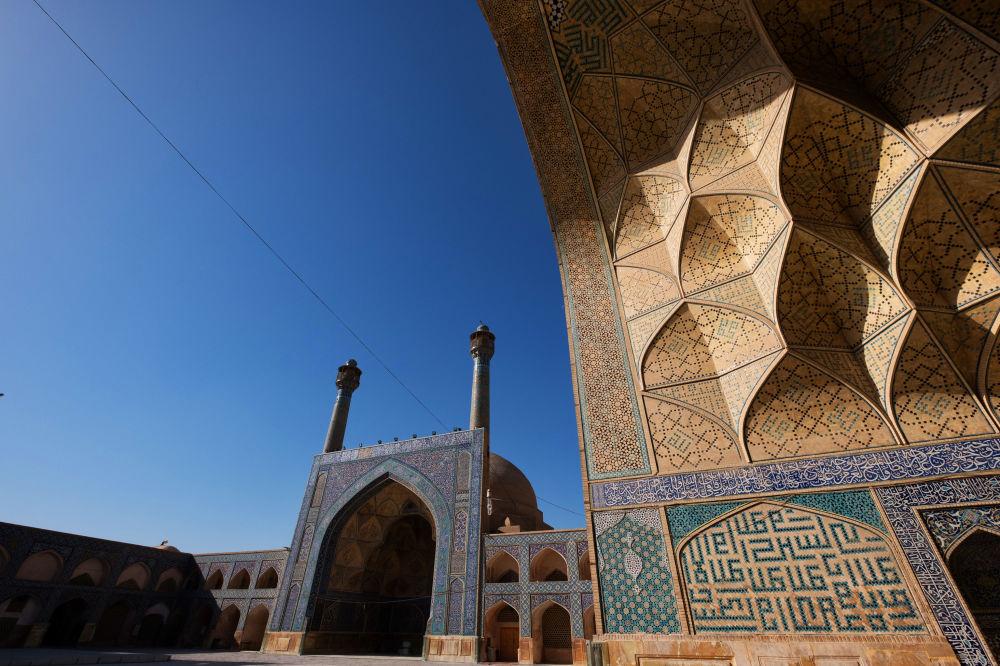La Moschea del Venerdì di Isfahan.