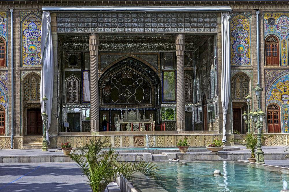 Il Palazzo del Golestan a Teheran.