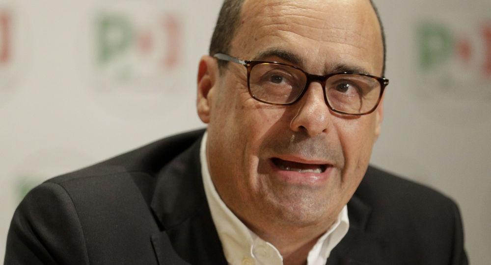 Il segretario del Partito Democratico Nicola Zingaretti
