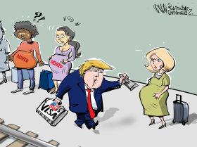 Ius Soli, Trump pronto alla battaglia contro il turismo delle nascite