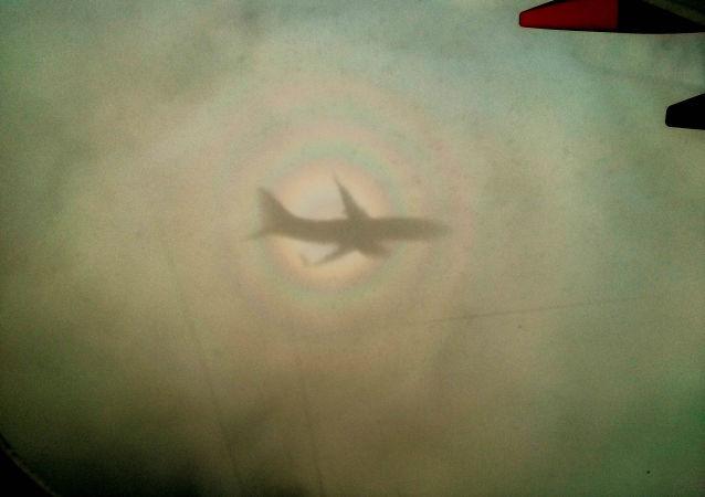 Ombra di un aereo