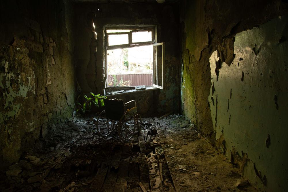 Scuola di musica abbandonata a Gagra, Abkhazia