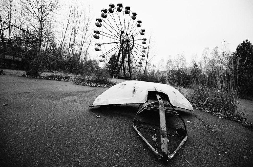 Un parco divertimenti Pripyat, Ucraina