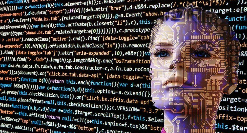 Intelligenza Artificiale - rappresentazione artistica