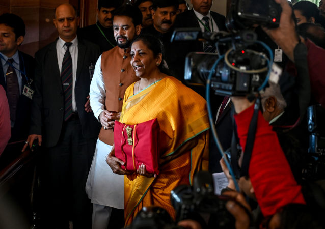 Ministro finanze indiano Nirmala Sitharaman