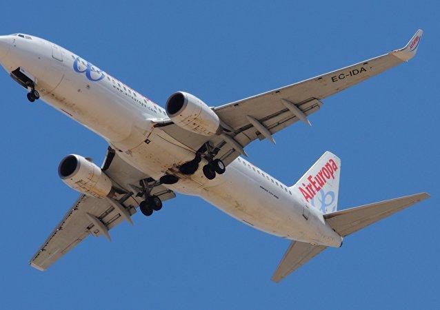 Un aereo di Air Europa