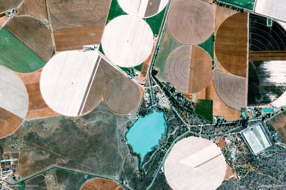 Vista di un'area nella provincia del Sudafrica