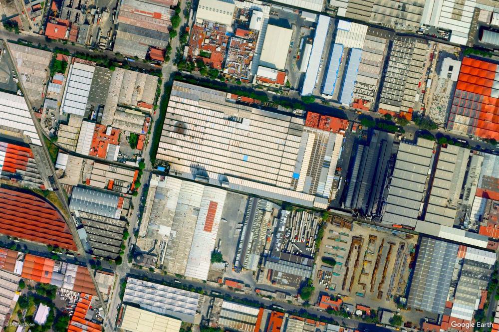 Vista di Città del Messico, Messico