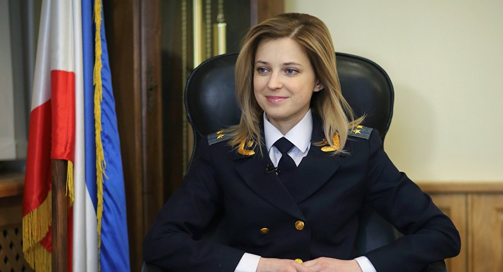 Procuratore della Crimea Natalia Poklonskaya