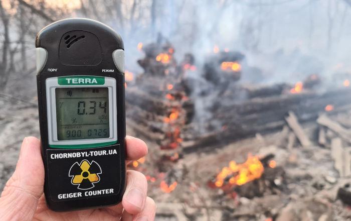 Nube dell'incendio di Chernobyl ha raggiunto l'Europa e l'Italia ...