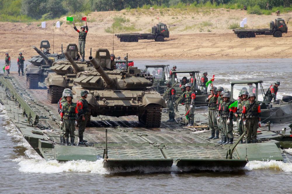 Competizione del genio militare Acqua aperta.