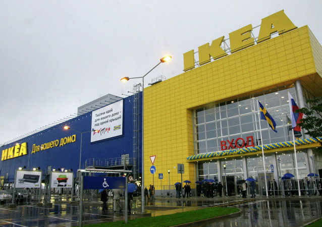An IKEA store in Samara