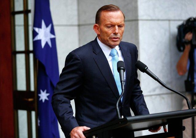 Primo ministro australiano Tony Abbott