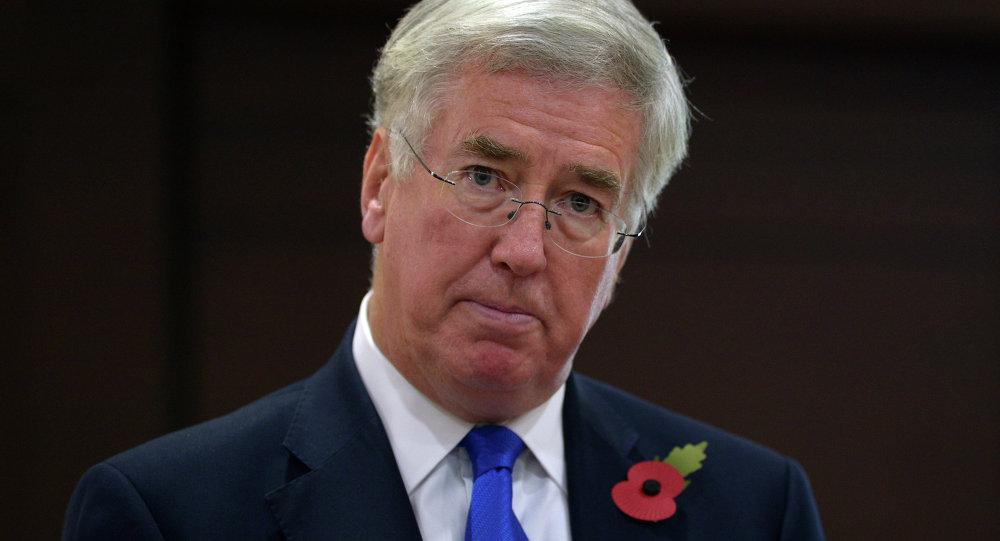 Ministro della Difesa britannico Michael Fallon