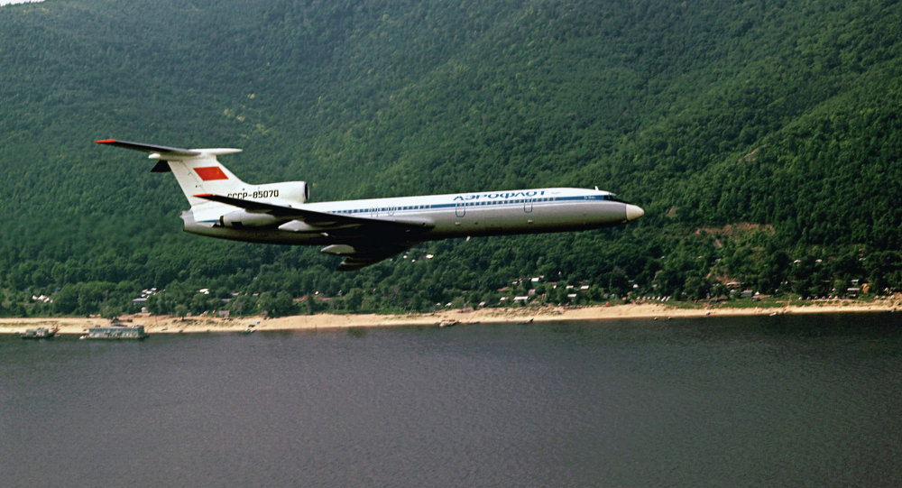 TU-154 passenger liner